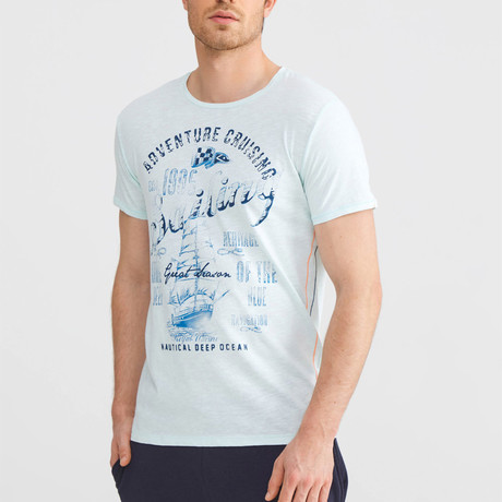 Adventure Cruising T-Shirt // Mint (S)