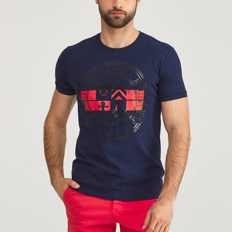 Trademark T-Shirt // Navy (S)