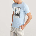 Worldwide Adventure T-Shirt // Morning Blue (M)
