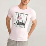 Worldwide Adventure T-Shirt // Salmon (M)