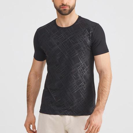 Texture T-Shirt // Black (S)
