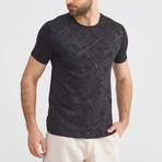 Texture T-Shirt // Black (L)