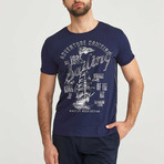 Adventure Cruising T-Shirt // Navy (S)