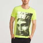 Freestyle T-Shirt // Neon Green (XL)