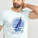 Experienced Navigation Sailing T-Shirt // Mint (L)