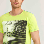 Freestyle T-Shirt // Neon Green (2XL)