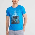 Sail T-Shirt // Cobalt (M)
