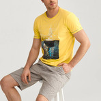 Sail T-Shirt // Yellow (2XL)
