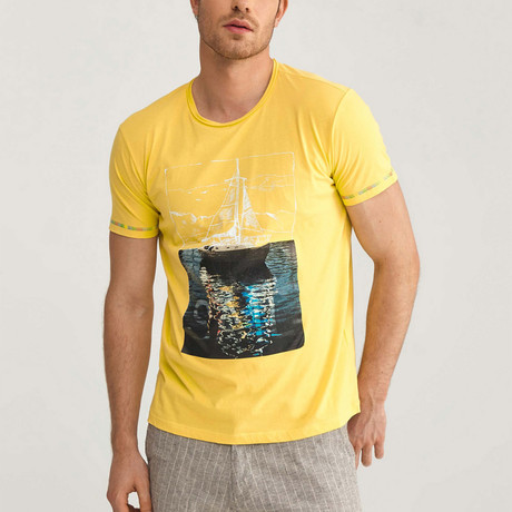 Sail T-Shirt // Yellow (S)
