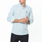 Cory Button-Up Shirt // Green (Small)