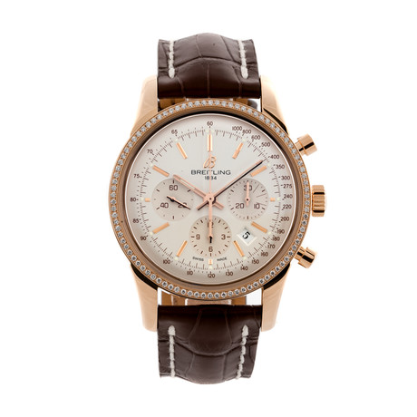 Breitling Transocean Chronograph Automatic // RB015253/G738 // Pre-Owned