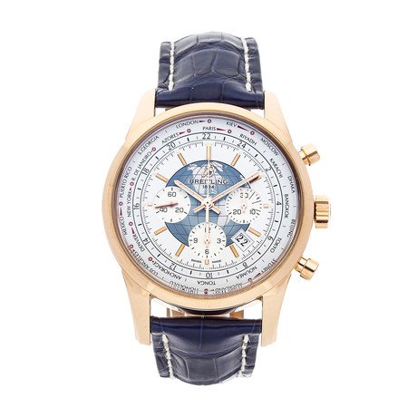Breitling Transocean Chronograph Unitime Automatic // RB0510U0/A733 // Pre-Owned