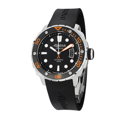 Alpina Seastrong Diver Automatic // AL-525LBO4V26 // Pre-Owned
