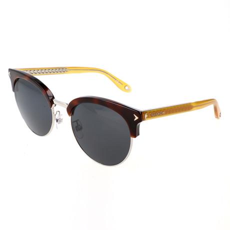 Unisex 7064 Sunglasses // Havana + Yellow