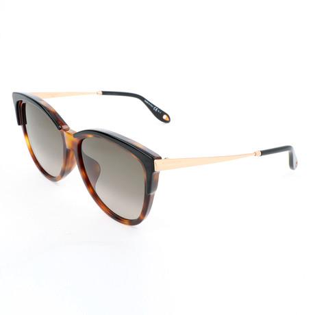 Women's 7084 Sunglasses // Havana + Gold