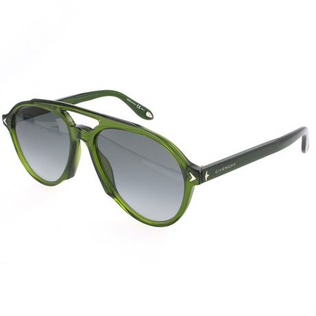 Unisex 7076 Sunglasses // Green