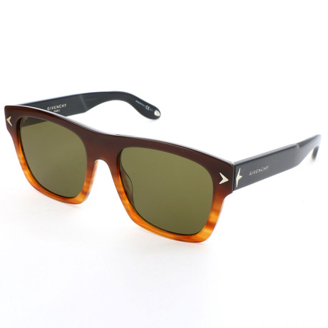 Givenchy // Unisex 7011 Sunglasses V2 // Black + Brown