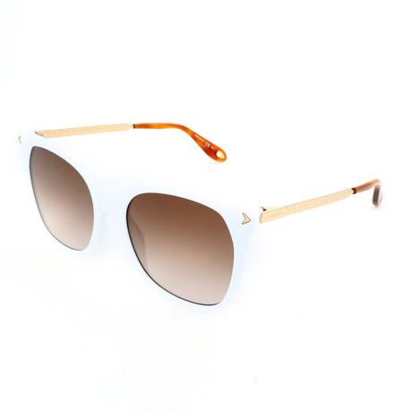 Men's 7097 Sunglasses // White + Brown