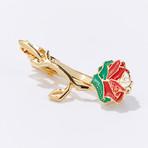 Revolutionary Rose of Lebanon Eternal Tie Clip