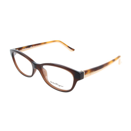 Unisex SF2722 Optical Frames // Brown
