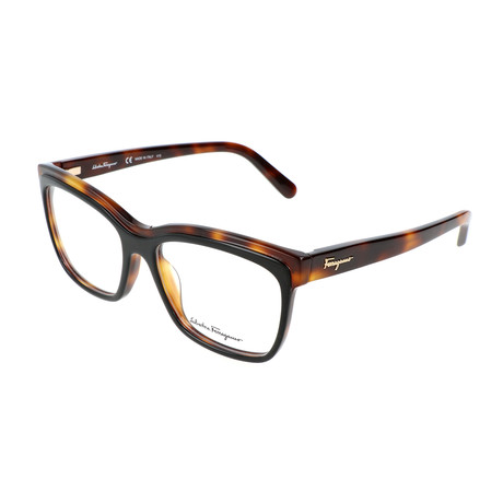 Unisex SF2749 Optical Frames // Black + Havana