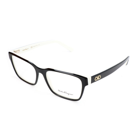 Unisex SF2790 Optical Frames // Black + White