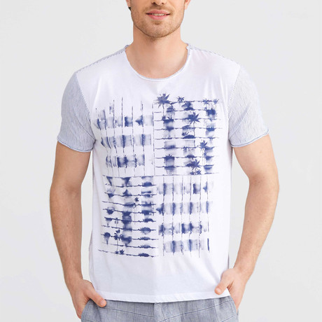 Graphic T-Shirt // Navy (S)