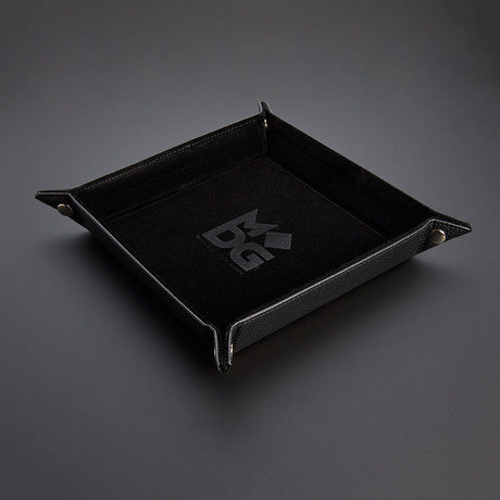 Black Accessory Bundle // Dice Tray + Tower + Silicone Case