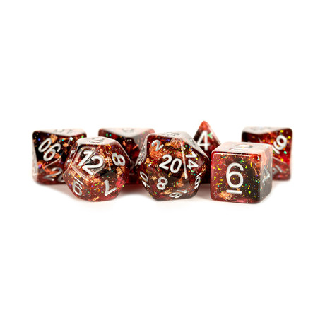 Eternal Reesin Polyhedral Dice Set (Fire)