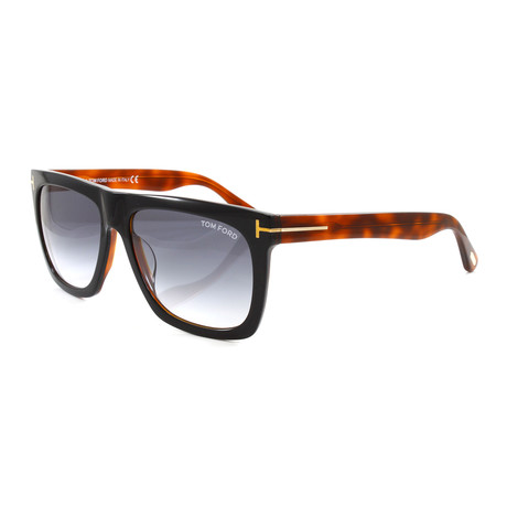 Men's FT0513S Sunglasses // Black + Havana