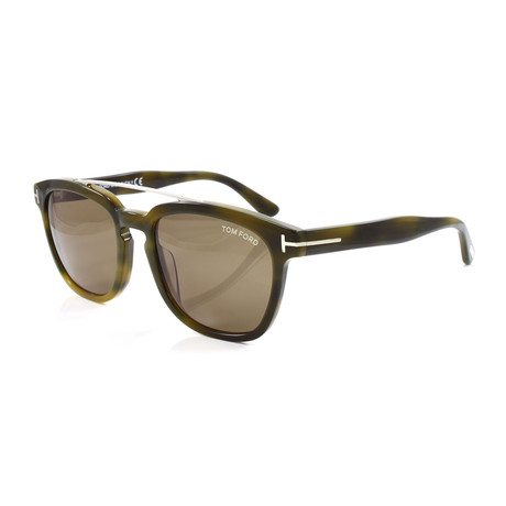 Men's FT0516S Sunglasses // Green Tortoise