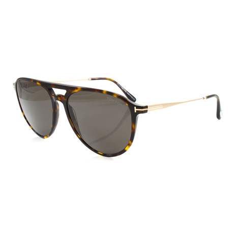 Men's FT0587S Sunglasses // Havana