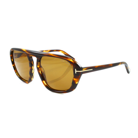 Men's FT0634S Sunglasses // Dark Havana