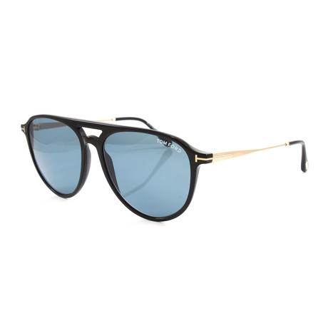 Men's FT0587S Sunglasses // Shiny Black