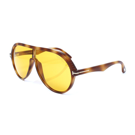 Men's FT0647S Sunglasses // Blonde Havana