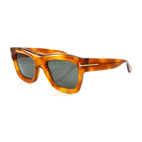 Men's FT0558S Sunglasses // Blonde Havana