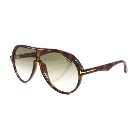 Men's FT0647S Sunglasses // Dark Havana