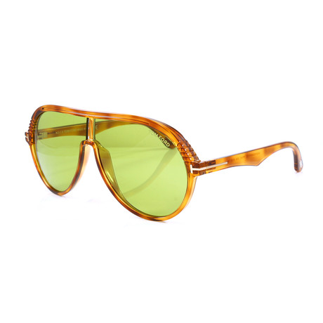 Men's FT0647S Sunglasses // Transparent Brown