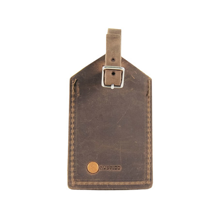 Luggage Tag MS (Dark Brown)