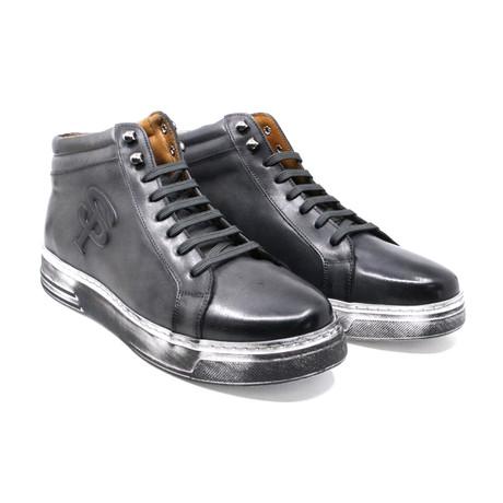 High Top Sneaker // Gray (US: 7)