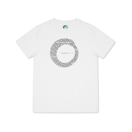 Friends Printed T-Shirt // White (S)