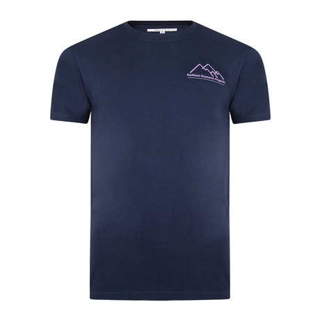 Tychon Chest T-Shirt // Navy (S)