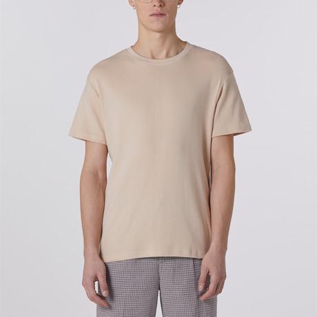 Pointelle T-Shirt // Mushroom (S)