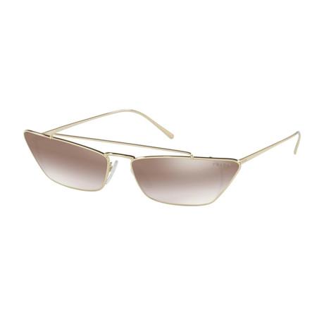 Women's Cat Eye 54US Catwalk Sunglasses // Pale Gold