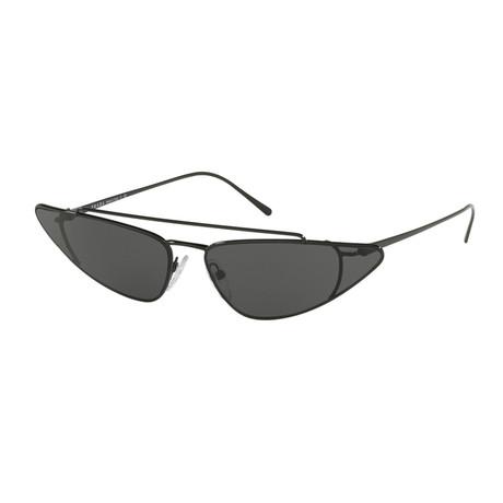 Women's Cat Eye 53US Sunglasses // Black