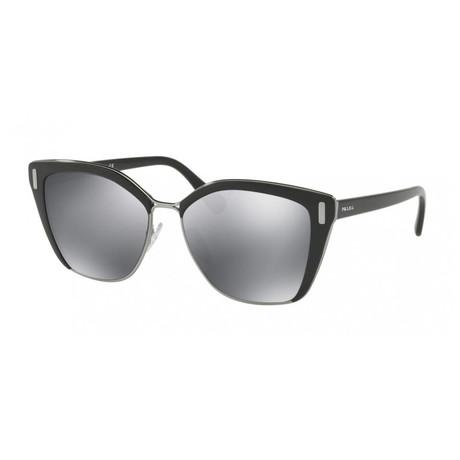Women's Square Women Sunglasses // Black