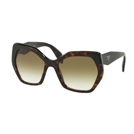 Women's Heritage Havana Sunglasses // Brown