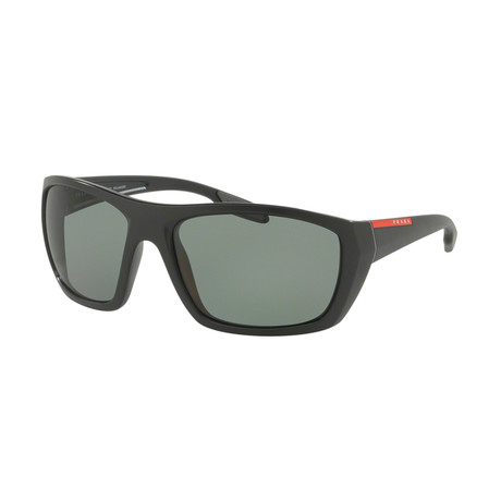 Men's Rectangular 05SS Active Polarized Sunglasses // Black