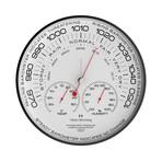 """Black Simplex 12"""" Aneroid Barometer // W300B105W"""