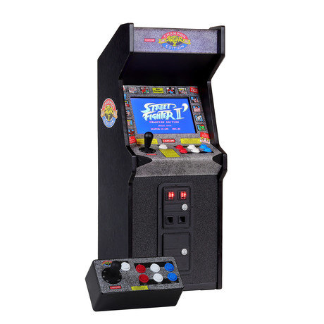 "Street Fighter II x RepliCade // 12"" Playscale Arcade Machine"